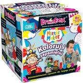 BrainBox: Koloruj i Zapamiętuj (Gra Karciana)