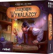 Legendarni Wynalazcy (Gra Planszowa) + Bonus