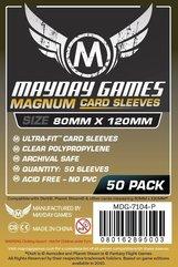 MAYDAY Koszulki Magnum Gold Ultra-Fit Czarne (80x120 mm) 50