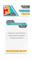 """Koszulki na karty Rebel (65x100 mm) """"Griffin Premium"""", 100 sztuk"""