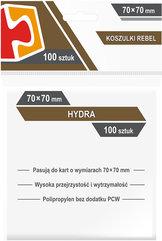 "Koszulki na karty Rebel (70x70 mm) ""Hydra"", 100 sztuk"