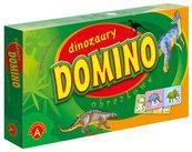 Domino obrazkowe - Dinozaury
