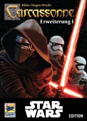 Carcassonne: Edycja Star Wars - Rozszerzenie 1 (Gra karciana)