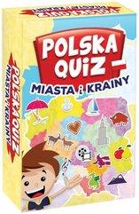 Polska Quiz: Miasta i Krainy (Gra Edukacyjna)