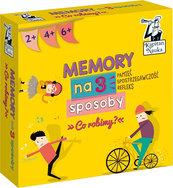 Kapitan Nauka - Memory na 3 Sposoby - Co robimy? (Gra Karciana)