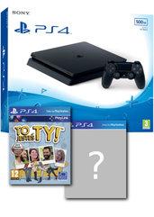 Konsola PlayStation 4 Slim 500 GB + To Jesteś Ty! + gra-niespodzianka + PlayStation Plus 14 dni