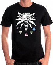 Koszulka Wiedźmin 3: Znaki XXL