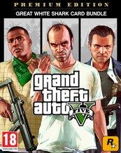 Pakiet Grand Theft Auto V: Edycja Premium + karta gotówkowa Great White Shark (PC) PL DIGITAL