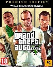 Pakiet Grand Theft Auto V: Edycja Premium + karta gotówkowa Whale Shark (PC) PL klucz