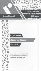 """Koszulki na karty Rebel (64x89 mm) """"Classic Card Game"""", 100 sztuk"""