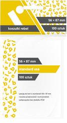 "Koszulki na karty Rebel (56x87 mm) ""Standard USA"", 100 sztuk"
