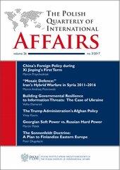 The Polish Quarterly of International Affairs, no 3/2017