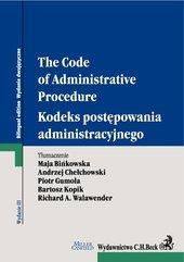 Kodeks postępowania administracyjnego. The Code of Administrative Procedure