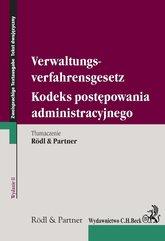 Kodeks postępowania administracyjnego. Verwaltungsverfahrensgesetz. wydanie 2