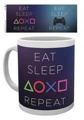 "Kubek Sony PlayStation ""Eat, Sleep, Repeat"""