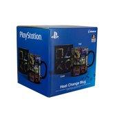 Kubek Zmieniający Się Pod Wpływem Ciepła Sony Playstation