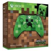 Kontroler Microsoft Minecraft Creeper Xbox ONE - bezprzewodowy