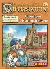 Carcassonne Opactwo i burmistrz (pierwsza edycja) (Gra planszowa)