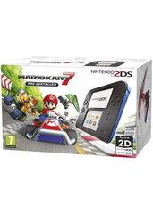 Konsola Nintendo 2DS Black & Blue + Mario Kart 7
