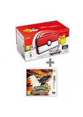 Konsola Nintendo 2DS XL Pokéball Edition + Pokémon Ultra Sun