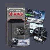 X-Wing: Zestaw Dodatkowy - TIE Advanced (Gra figurkowa)