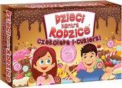 Dzieci kontra rodzice: Czekolada i cukierki (Gra karciana)
