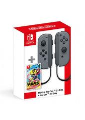 Arms + Komplet kontrolerów Joy-Con - kolor szary (Switch)