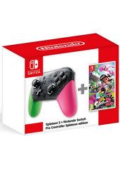 Splatoon 2 + Kontroler Nintendo Switch Pro Controller Splatoon ed. (Switch)