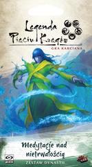 Legenda Pięciu Kręgów: Gra karciana - Medytacje nad nietrwałością (Gra karciana)