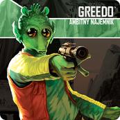 Star Wars: Imperium Atakuje - Greedo, Ambitny Najemnik (Gra planszowa)