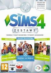 The Sims 4 Zestaw 3 (PC) PL DIGITAL
