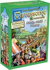 Carcassonne: Mosty, zamki i bazary (druga edycja polska) (Gra karciana)