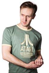 Atari Vintage Logo koszulka  - S + kubek Space Invaders
