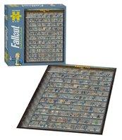Puzzle Fallout 4 550 sztuk 46 x 61 cm