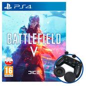 Battlefield V (PS4) PL + BONUS + nakładki na Dualshock 4