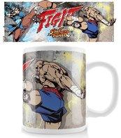 Kubek Street FighterMug Chun-Li kontra Sagat