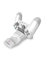 Stacja dokująca na 2 gamepady Lioncast LC20 PS4 biała (Ładowarka do gamepada)