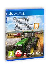 Farming Simulator 19 (PS4) PL + DLC