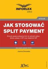 Jak stosować split payment