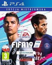FIFA 19 EDYCJA MISTRZOWSKA (PS4) PL + nakładki na Dualshock 4