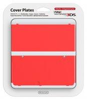 Wymienna nakładka New 3 DS czerwone (3DS)