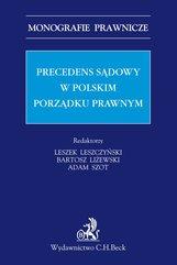 Precedens sądowy w polskim porządku prawnym