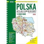 Atlas Samochodowy Polski 1:200