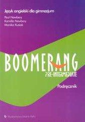 Boomerang Pre-intermediate Podręcznik Język angielski