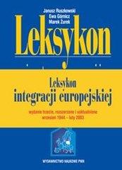 Leksykon integracji europejskiej + CD