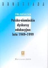Polsko-niemieckie dyskursy edukacyjne 1949-1999