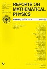 Reports on Mathematical Physics 56/1 wer.kraj.