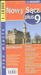 Nowy Sącz plus 9 1:18 00 plan miasta