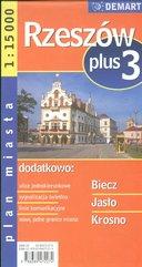 Rzeszów plus 3 1:15 000 plan miasta