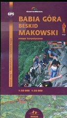 Babia Góra Beskid Makowski Mapa turystyczna